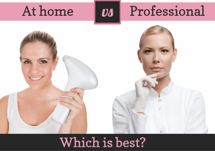 Laser hair removal at home vs professional treatments which is best at home vs professional solutioingenieria Choice Image