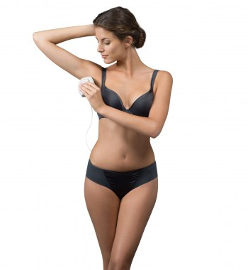 The Lumea Comfort is perfect to treat smaller body areas and the face