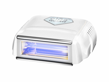 Elos 300000 flash cartridge with silver RF contacts above and below the Quartz flash window