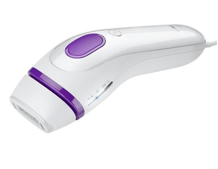 The White and Purple Braun Silk expert IPL 3 (BD 3001)