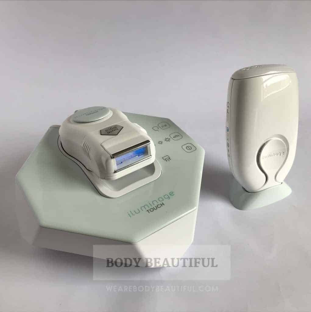Iluminage Devices: Best IPL & RF home hair removal system for fair hair