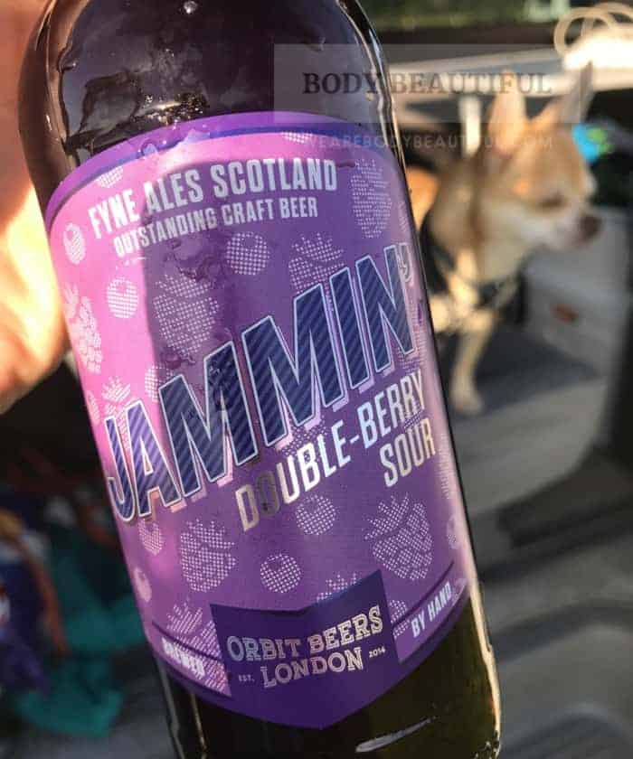 Photo of Jammin' Double-Berry Sour from fyne Ales Scortland. Tasty stuff. Drink Responsibly.