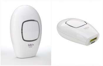 Photos of the Silk'n Infinity showing the curvy design.