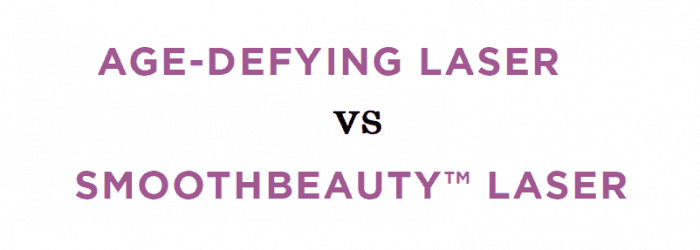 Age-defying laser vs SmoothBeauty laser