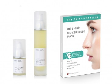Buy Mira-skin Hyaluronic Serum & masks