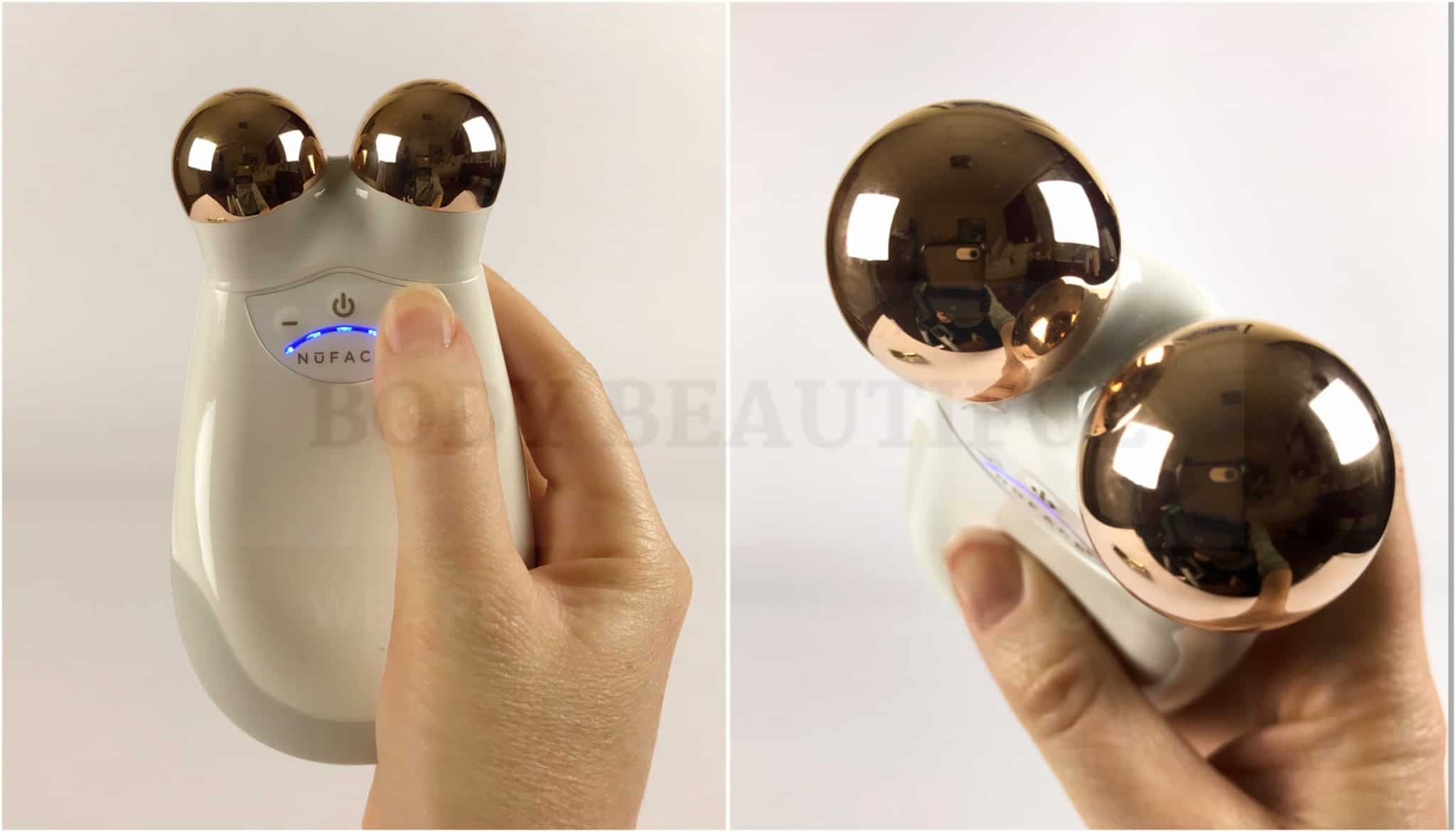 Nuface Trinity microcurrent anti-aging device review by WeAreBodyBeautiful.com - for a healthier, younger, lifted appearance.