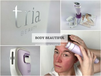 Tried & tested user trial of the Tria Age Defying laser with before & after photos