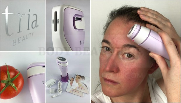 Tried & tested user trial of the Tria Age Defying laser with before & after photos by WeAreBodyBeautiful.com