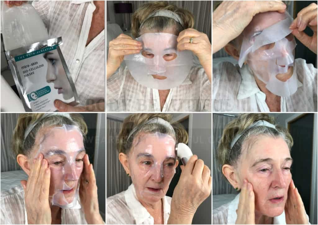 Mira-skin hyper hydration sheet mask treatment steps; the most affordable and effective professional at-home facial.
