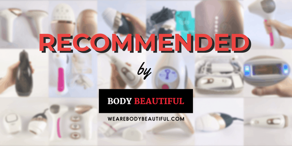 Recommended home laser hair removal machines by Wearebodybeautiful.com