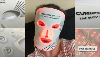Tried & tested CurrentBody.com Skin LED light therapy mask review by WeAreBodyBeautiful.com