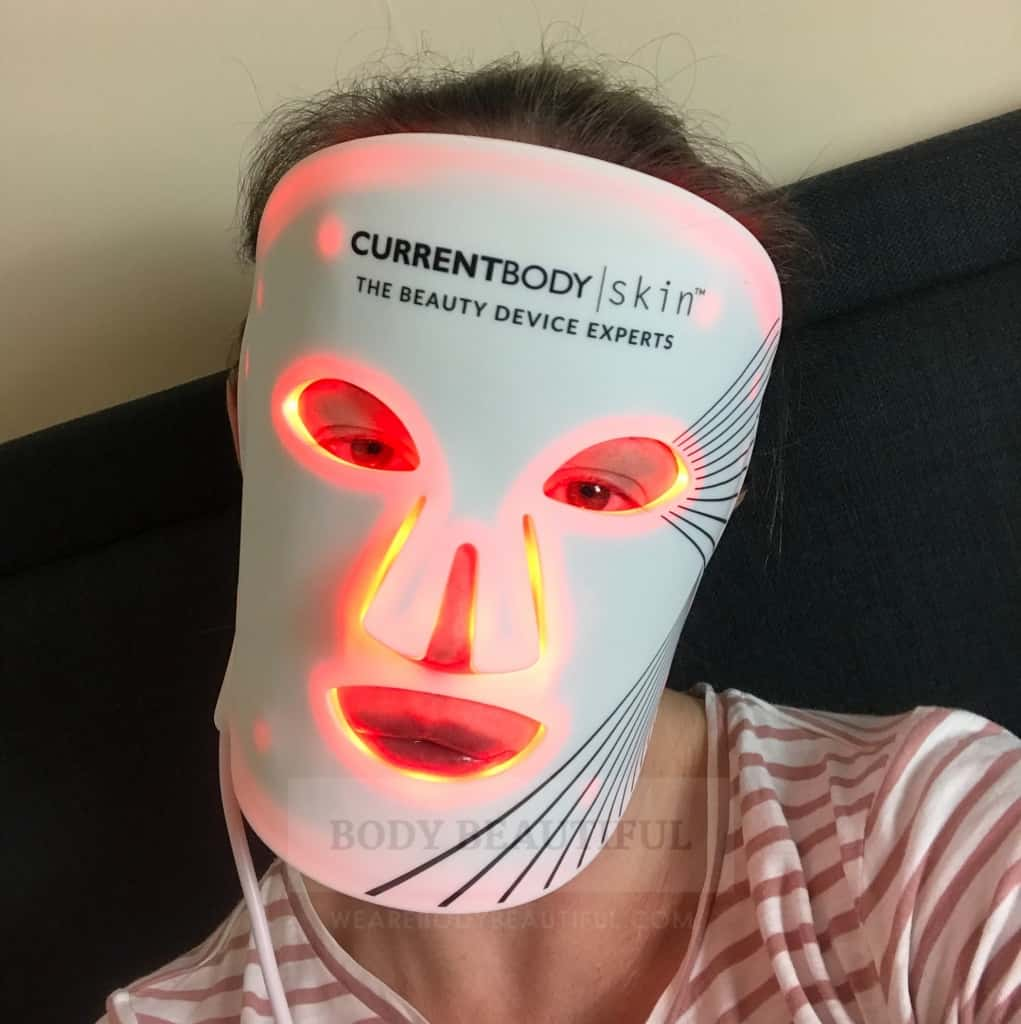 Wearing the Current Body LED mask is comfortable and easy. It's very low effort with minimal motivation to do a session.