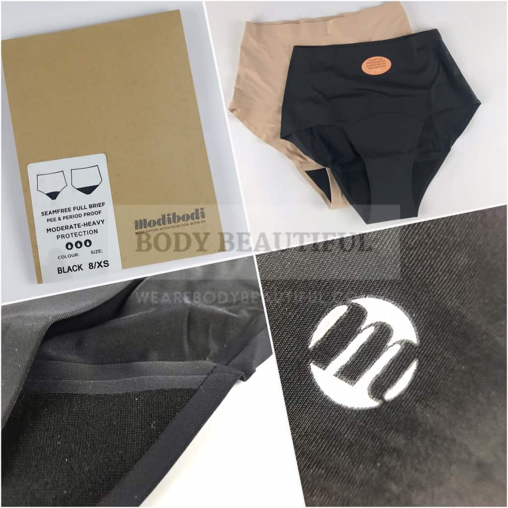 I tested Modibodi Seamfree full brief period pants over several months