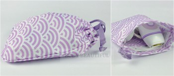Lilac wave pattern fabric storage pouch isn't as good as the padded case with the Braun Pro 5 range!