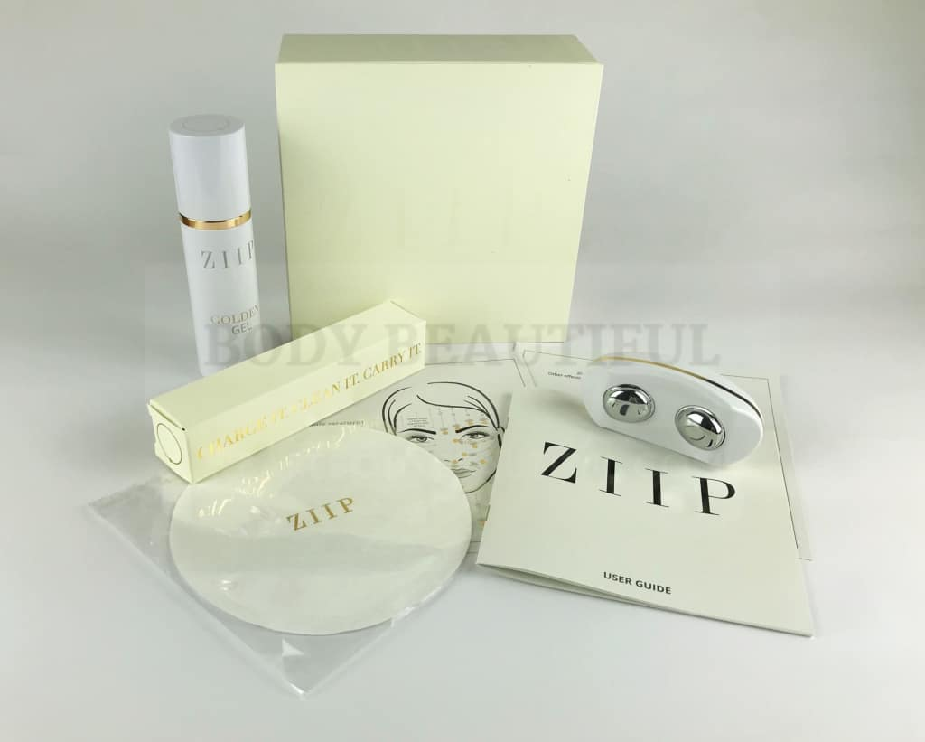 The contents of the ZIIP box