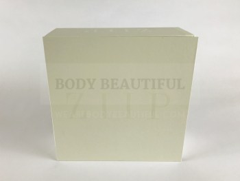 Front of the compact, cream ZIIP box