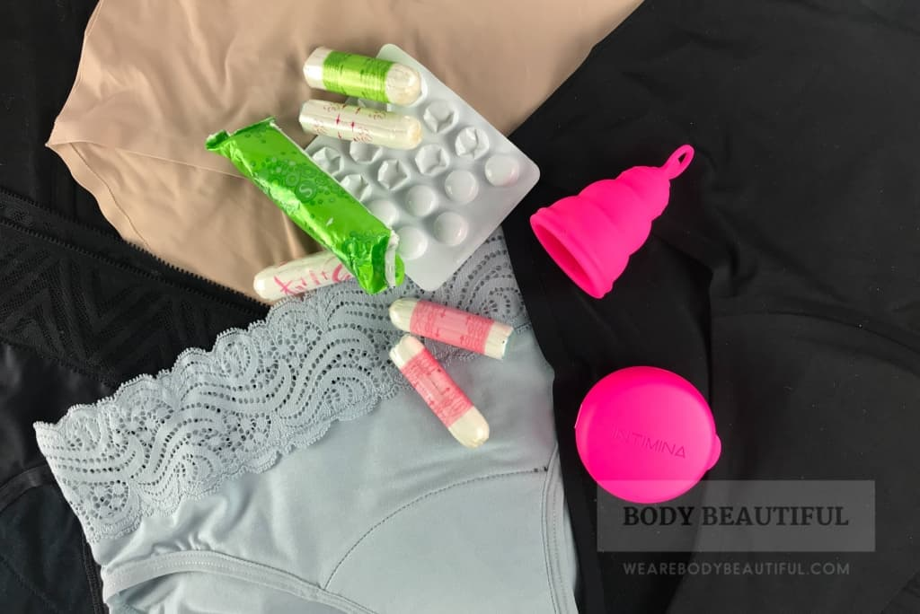Our tests found Modibodi period pants work very well as a back-up to tampons or a cup.