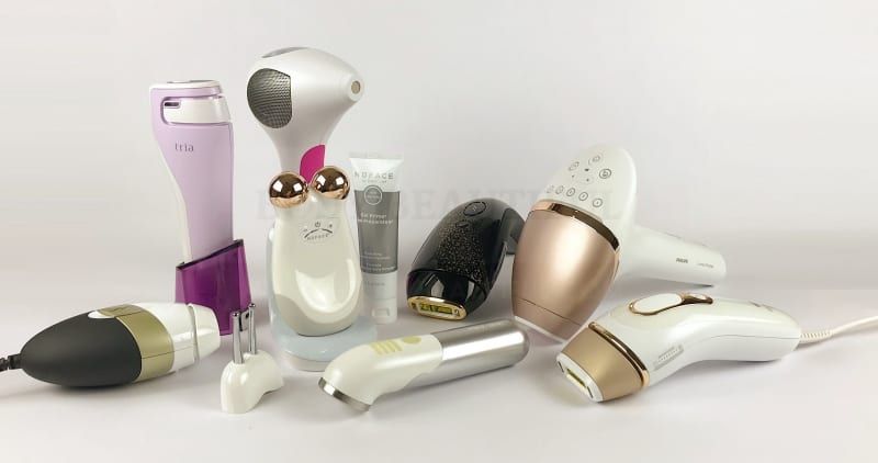 WeAreBodyBeautiful.com tried & tested reviews of at home laser hair removal and skincare devices