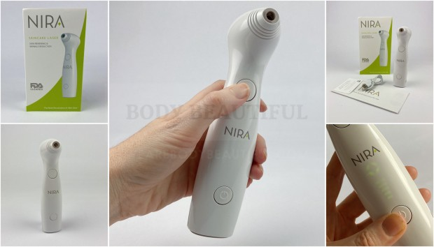 NIRA Skincare anti-aging home laser review tried & tested by weAreBodyBeautiful.com