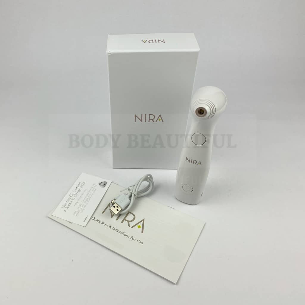 Clinical white, professional and expensive NIRA laser.