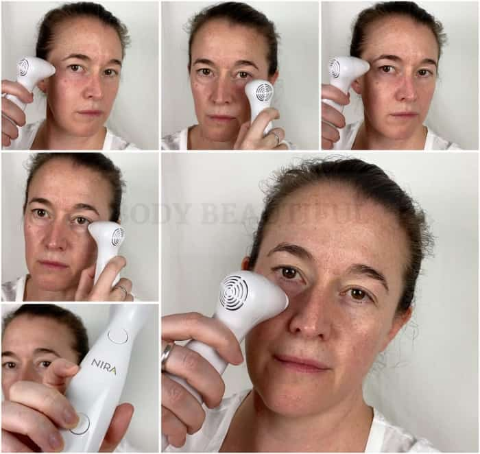 The NIRA laser gives precise and quick under eye zapping sessions so no wrinkles escape!