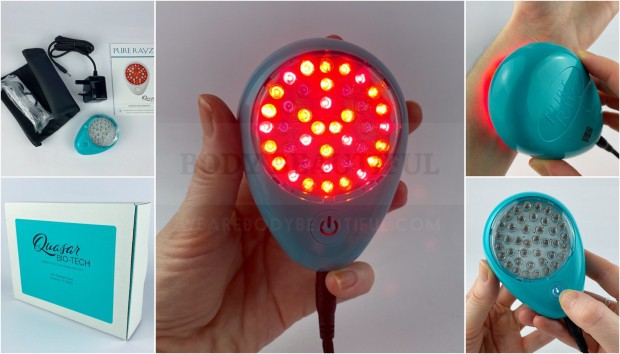 Quasar Pure Rayz red & NIR light review tried & tested by weAreBodyBeautiful.com