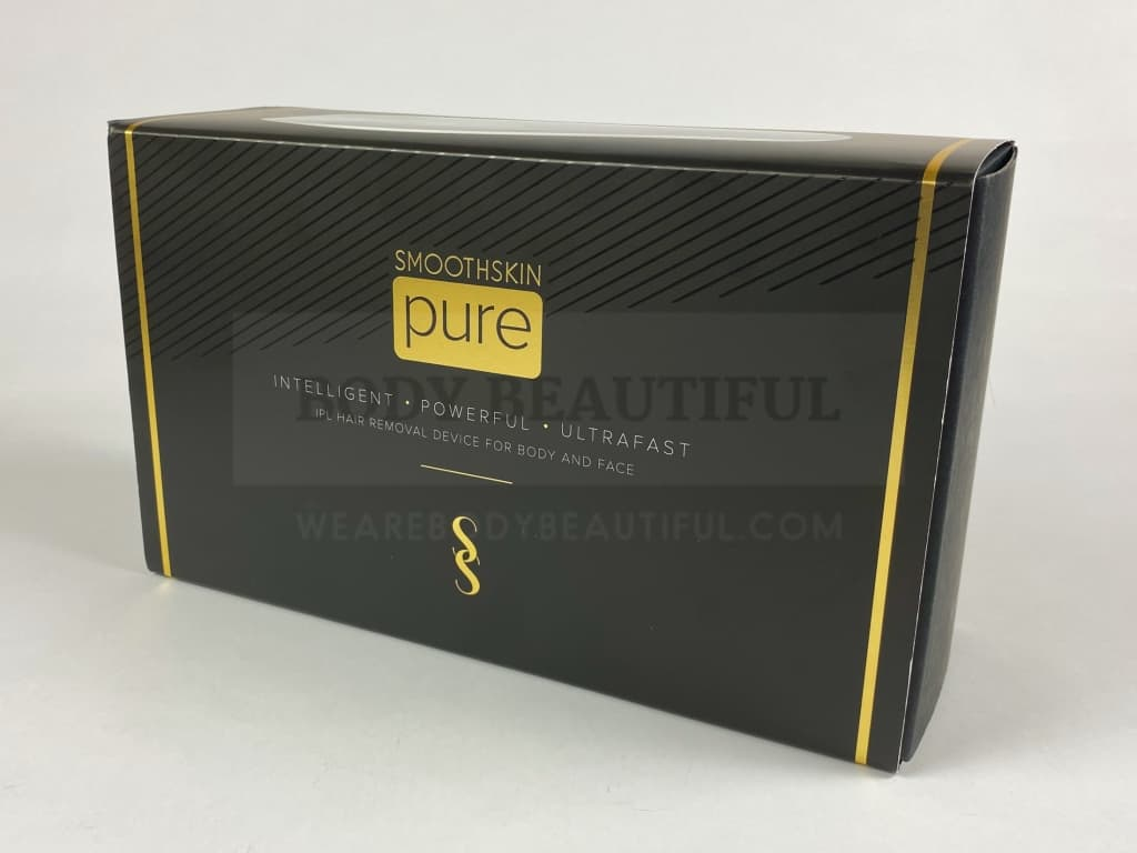 Black & Gold attractive packaging with the Smoothskin Pure