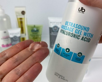 UB ultrasound gel with Hyaluronic acid Nuface primer alternative