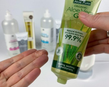 I used Aloe Vera gel with my Nuface for several months and saw excellent results - but according to Nuface it's no good!