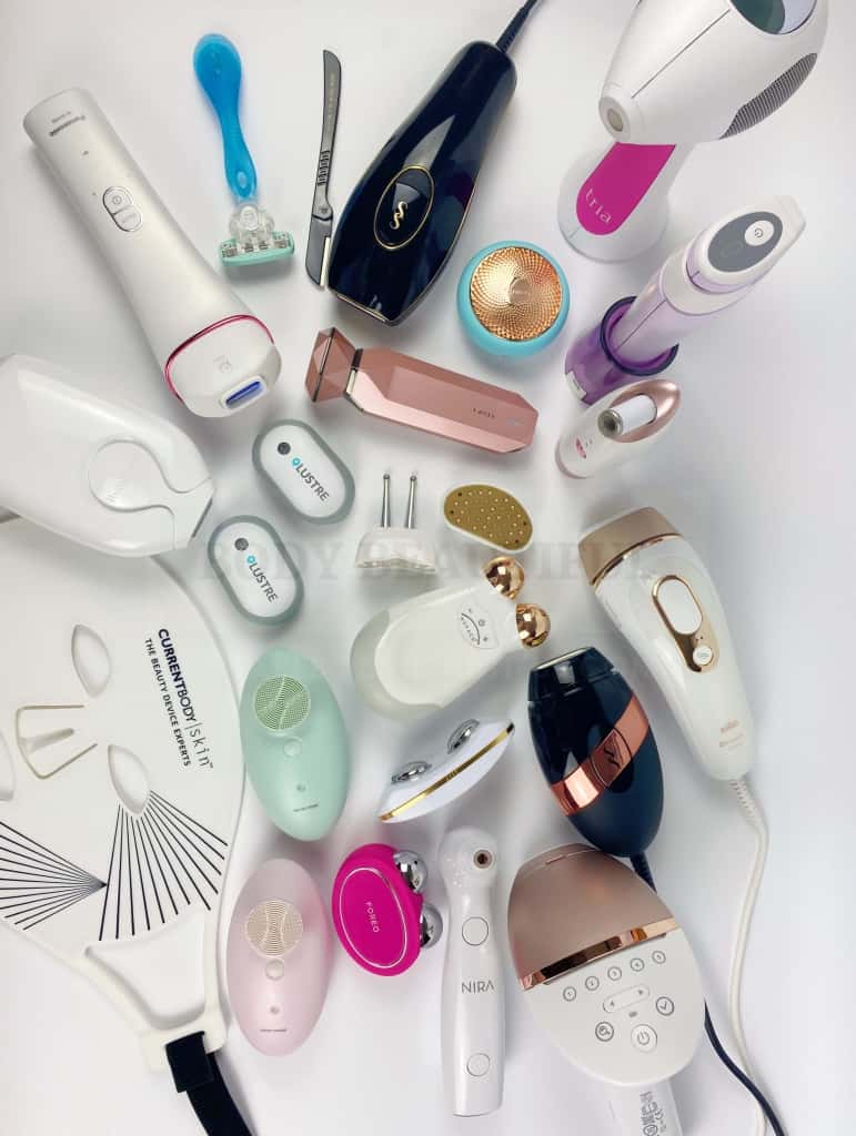 Look at all these home beauty tech products WeAreBodyBeautiful.co have reviewed! Woah!