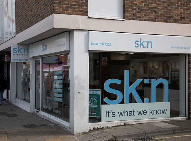 SK:n clinic in Southampton where I got laser hair reoval and it changed my life!
