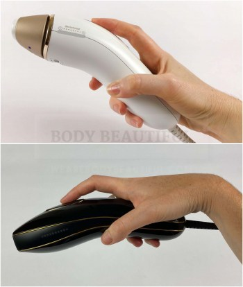 You can also hold the Braun Pro 5 along the handle