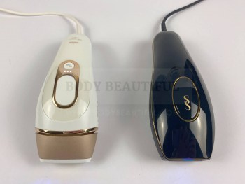 Braun Pro 5 IPL & Smoothkin Pure side by side