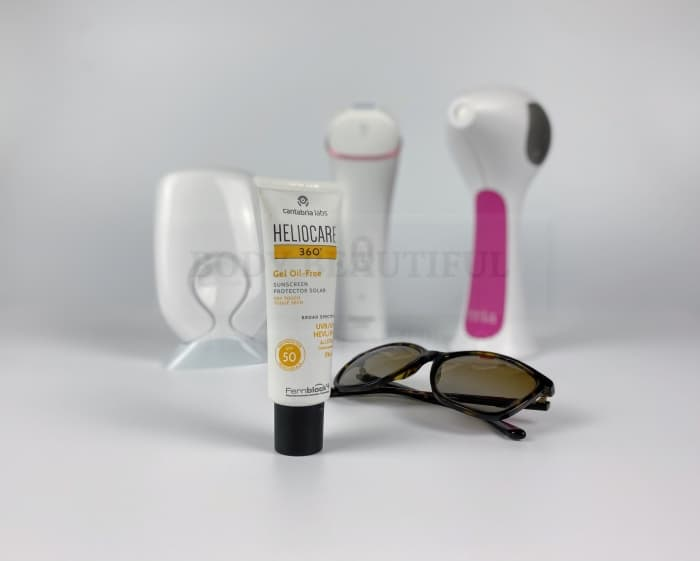 Use a high SPF30+ to protect your skin fro reactions and side effects of hoe IPL/laser