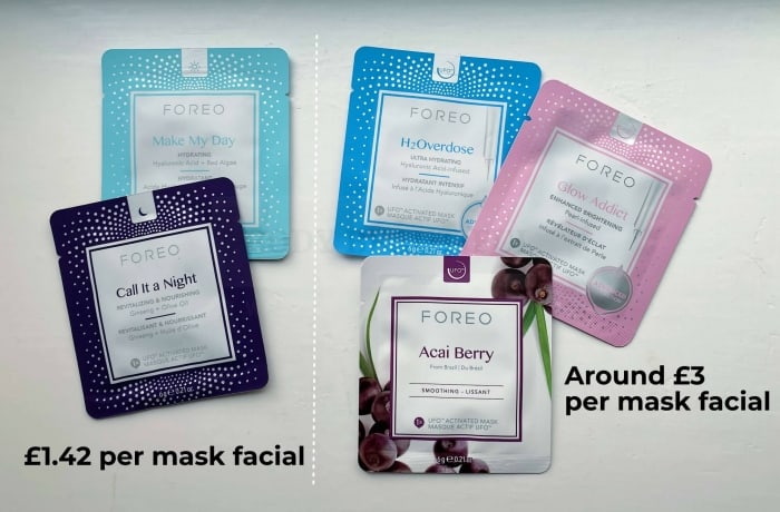 The Korean Make My Day and Call it a Night masks work out at around £1.42 per facial. The more expensive Advanced and Farm To Face collection masks double that at around £3 per facial.