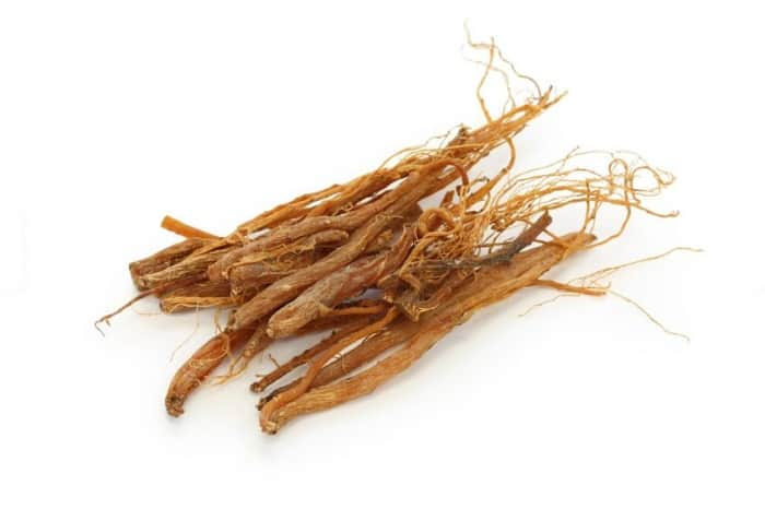 Panax Gingseng root, popular in chinese herbal rememdies (and lash growth serums!)